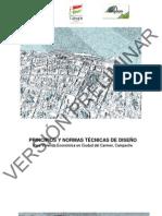 Principios y Normas Técnicas de Diseño para Vivienda Económica en Ciudad del Carmen