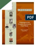 Genealogía de ShanXi TaiGu XingYiQuan