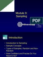 Module9, Sampling