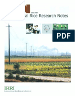 International Rice Research Notes Vol.25 No.3