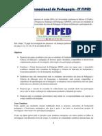 Foro Internacional de Pedagogia