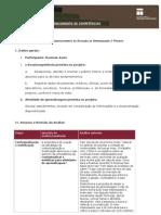 ANÁLISE DO DESENVOLVIMENTO DA SITUAÇÃO DE APRENDIZAGEM  PROJETO Versão Final