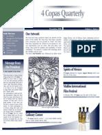 MMD Newsletter 4 Copas USA