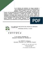 CONVOCATORIA DEBATE ECOLÓGICO