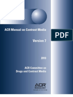 ACR Manual Dos Meios de Contraste