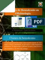 Cloruro de Benzalconio en Oftalmología