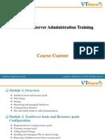 Citrix XenServer Administration Training