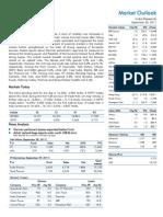 Market Outlook 30th September 2011