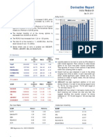 Derivatives Report 30th September 2011
