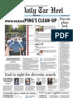 The Daily Tar Heel for September 30, 2011.