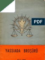 Yassıada Broşürü - Ekim 1960