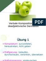 VerbaleKomposition Und Deadj Derivation