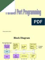 Microcontroller 8051-Parallelport
