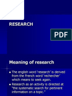 Research Meaning
