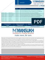 Metal  Report 30.09.11 Mansukh Investment and Trading Solution