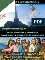 Lección 14 - La iglesia y su fundamento