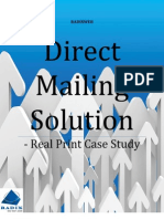 Direct Mailing Solution-Real Print Case Study