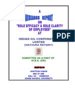 50529177 Mba Project on Hr Role Efficacy