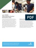 NWEA Int'l Partner Norm Data