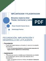 Implantacion y placentacion