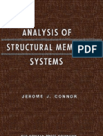 Analysis of Structural Member Systems
