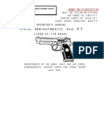 Field Manual - US Army - TM 9-1005-317-10 - Operator's Manual for M9 9mm Pistol