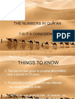 The Numbers in Qur'an