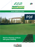 ECO Grid Grass Finishing