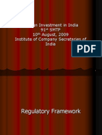 Foreign Investment in India - 91st SMTP