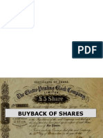 Ppt on Buy Back of Share