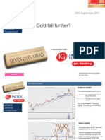 Will Gold Fall Further Ig
