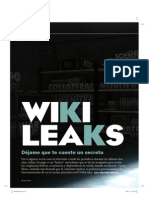 Especial sobre WikiLeaks en QUÉ LEER
