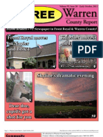 The Early October, 2011 edition of Warren County Report