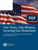U.S. Department of Homeland Security Strategic Plan 2008–2013