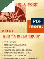 Aditya Birla 'More'