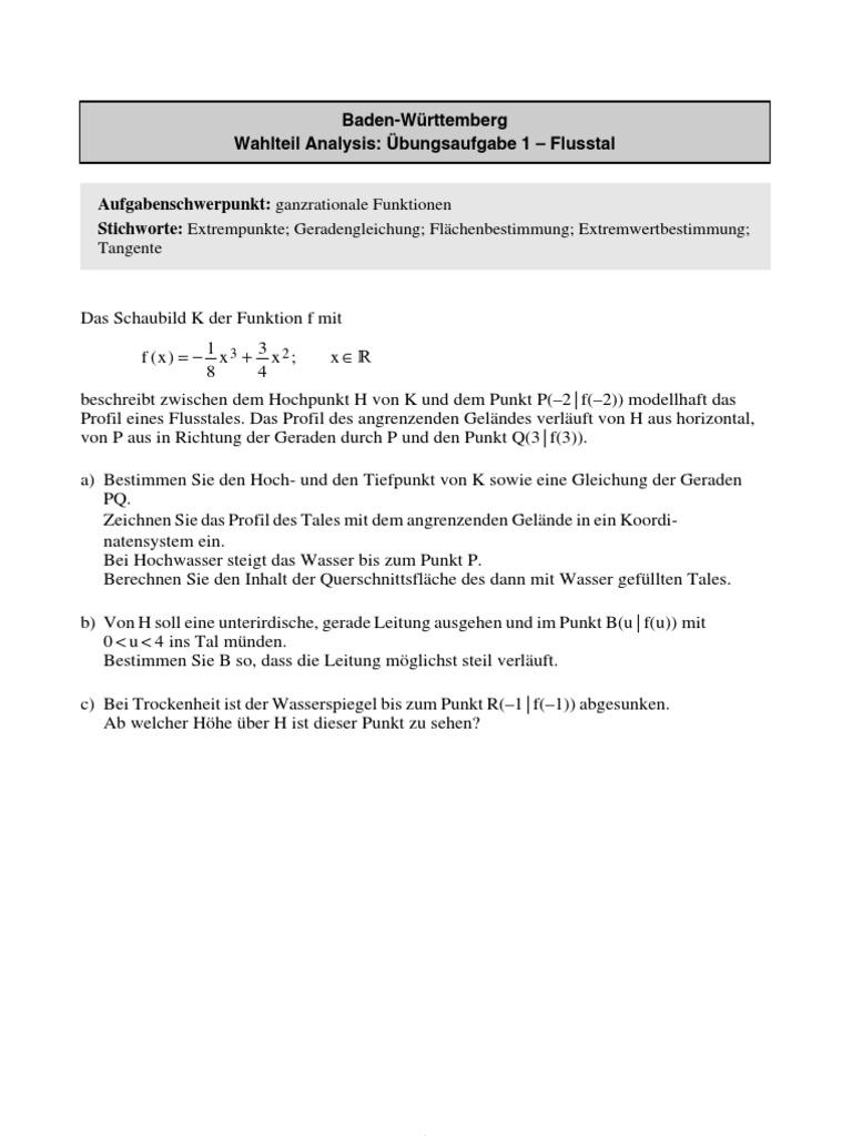 Uebungsaufgaben-Stark Mathe ABI 2010 Baden-Wuerttemberg
