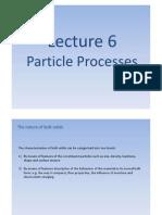 Particle Processes