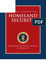 National Strategy for Homeland Security 2007