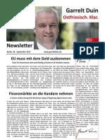 20110930 Newsletter September III