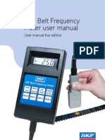 Belt Frequency Meter
