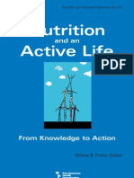 Nutrition and an Active Life