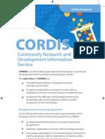 Cordis Factsheet En