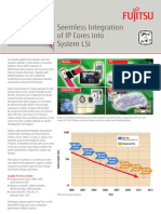 Fujitsu - Seemless Integration of IP Cores into System LSI - IP & Cores