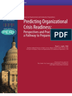 CCPR - Project on Organizational and Community Preparedness