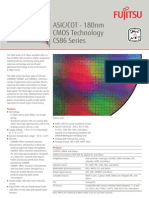 Fujitsu - ASIC/COT - 180nm CMOS Technology CS86 Series