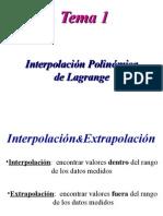 Interp Lagrange