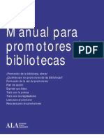 Manual Para Promotores de Bibliotecas