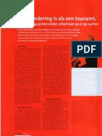 Verandering is als een tsunami, ofwel ga je ten onder, ofwel leer je er op surfen - CFO Magazine