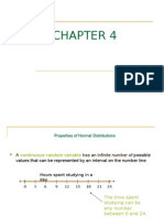 CHAPTER 4 Normal Distribution Z-Scores