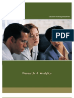 AnalyZ Research Solutions Brochure